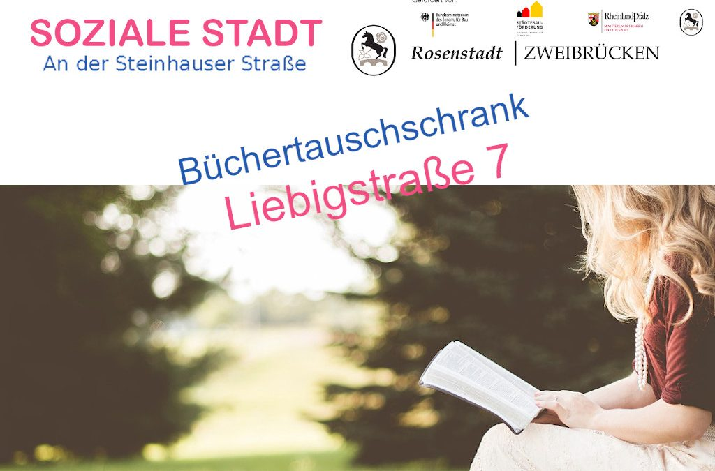 Büchertauschschrank Liebigstraße7
