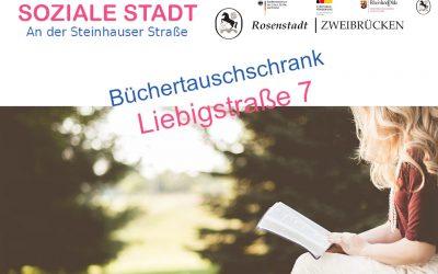 Büchertauschschrank Liebigstraße 7