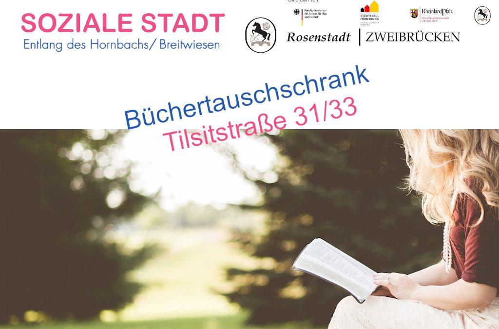 Büchertauschschrank Tilsitstraße 31/33