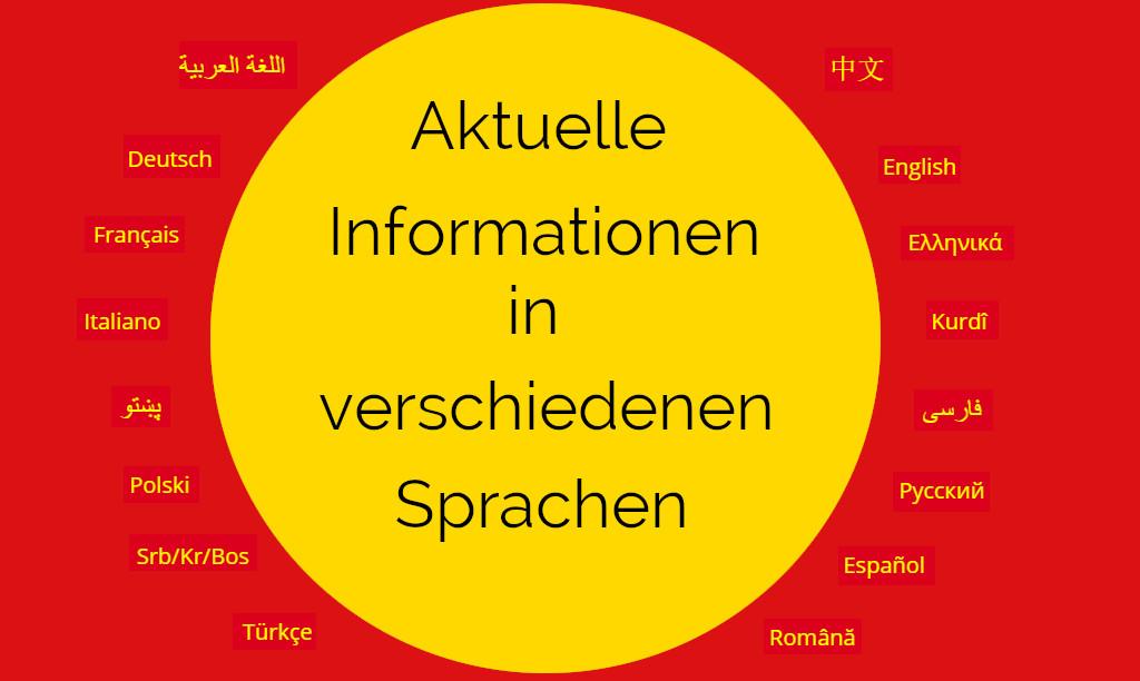 Mehrsprachige Informationen